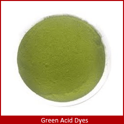green acid dyes in china