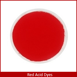 red acid dyes in colombia