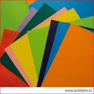 Acid Dyes for Paper in India