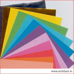 Acid Dyes for Paper Industries India